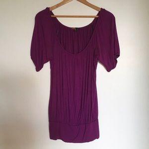 Purple tunic / dress